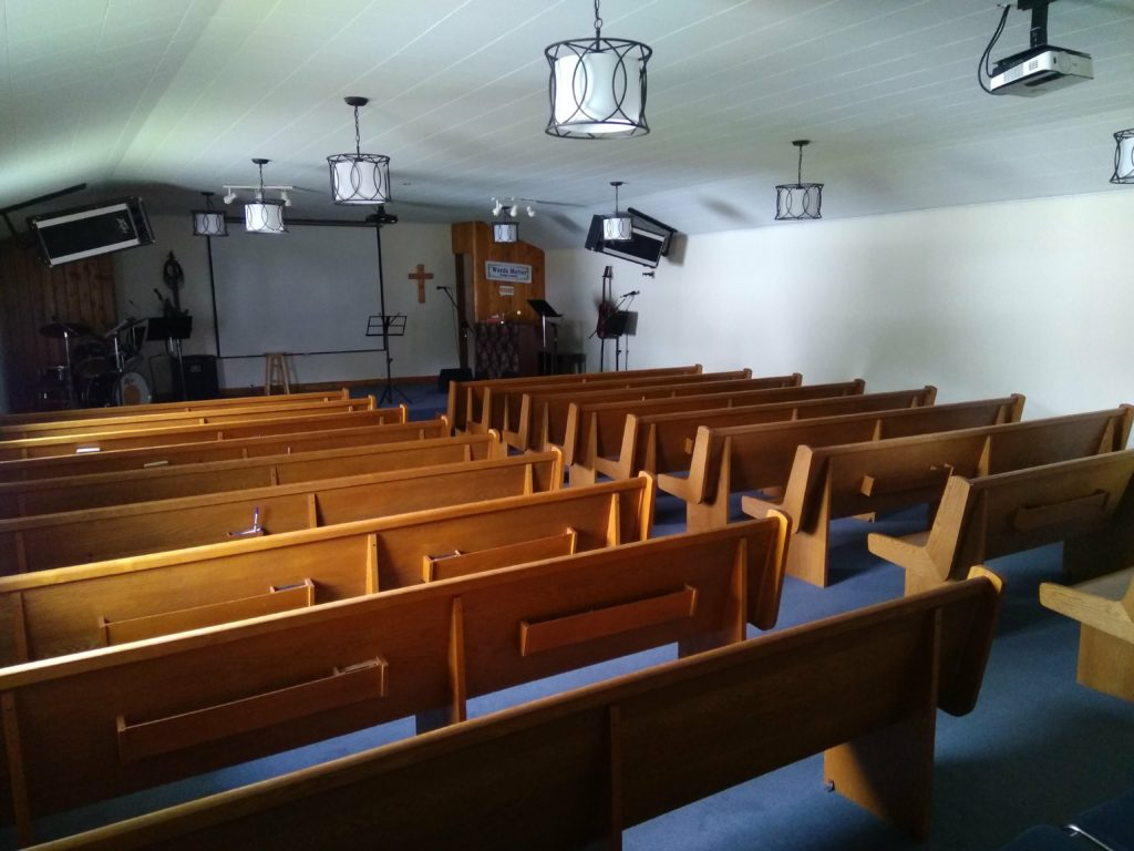 Inside Truro Alliance Church